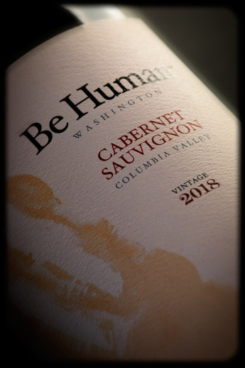 Be Human 2018 Cabernet Sauvignon - Columbia Valley AVA - Be Human Wines