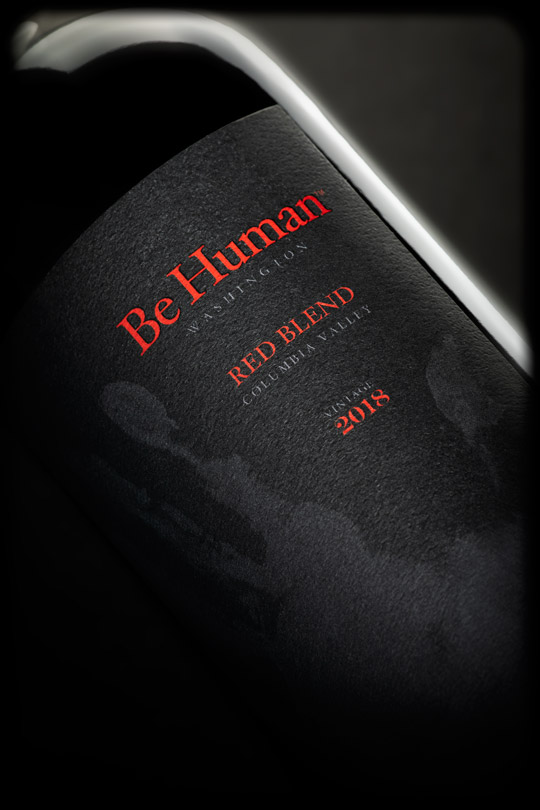 Be Human 2018 Red Blend - Columbia Valley AVA - Be Human Wines