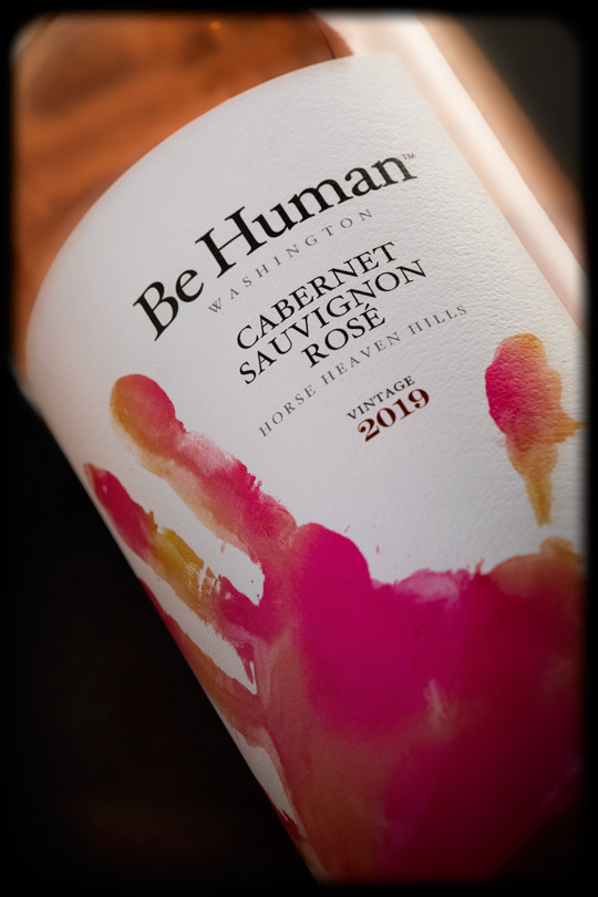 Be Human 2019 Cabernet Sauvignon Rose - Horse Heaven Hills - Be Human Wines